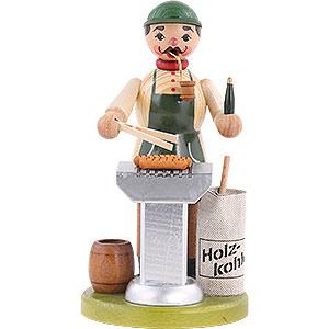 Räuchermänner Hobbies Räuchermännchen Grillmeister - 18cm