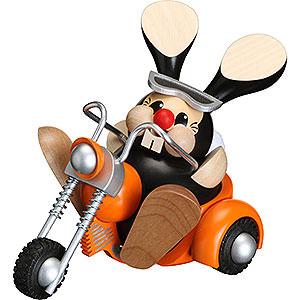 R�ucherm�nner Hobbies R�ucherm�nnchen Hase auf Trike - 12cm