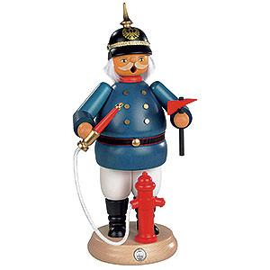 Räuchermänner Berufe Räuchermännchen Historischer Feuerwehrmann - 25cm