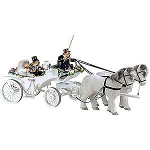 Räuchermänner Sonstige Figuren Räuchermännchen Hochzeitskutsche