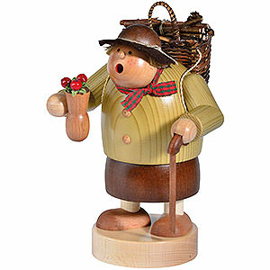 Räuchermänner Sonstige Figuren Räuchermännchen Holzweibl - 15cm