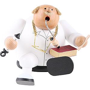 Räuchermänner Berufe Räuchermännchen Kantenhocker Doktor - 14 cm