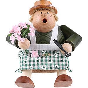 Räuchermänner Berufe Räuchermännchen -  Kantenhocker Floristin - 16cm
