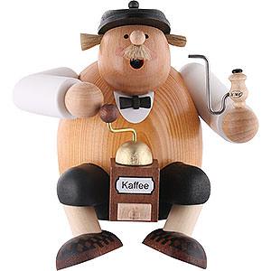 Räuchermänner Sonstige Figuren Räuchermännchen Kantenhocker Kaffeesachse - 15 cm