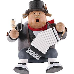 Räuchermänner Berufe Räuchermännchen Kantenhocker Musiker - 16 cm