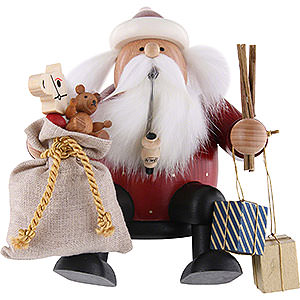 Räuchermänner Weihnachtsmänner Räuchermännchen Kantenhocker Weihnachtsmann - 16 cm