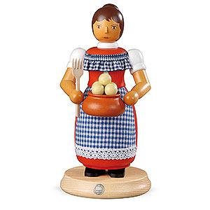 Räuchermänner Sonstige Figuren Räuchermännchen Kloßfrau - 24cm