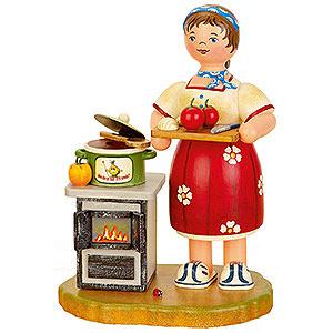 Räuchermänner Hobbies Räuchermännchen Kochen für Freunde - 21 cm