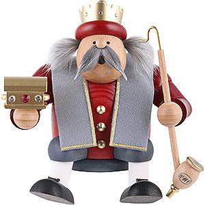 Räuchermänner Sonstige Figuren Räuchermännchen König Caspar - 17 cm
