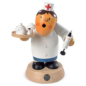 Räuchermänner Berufe Räuchermännchen Krankenschwester - 16cm