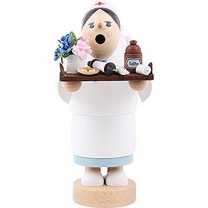 Räuchermänner Berufe Räuchermännchen Krankenschwester - 19 cm
