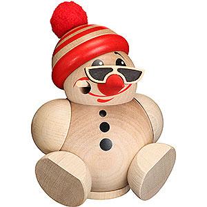 Räuchermänner Sonstige Figuren Räuchermännchen Kugelräucherfigur Cool Man mit Mütze - 12 cm