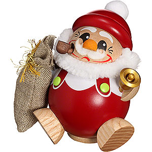 R�ucherm�nner Weihnachtsm�nner R�ucherm�nnchen Kugelr�ucherfigur Nikolaus - 12 cm
