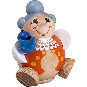 Räuchermänner Sonstige Figuren Räuchermännchen Kugelräucherfigur Oma lustig - 11 cm