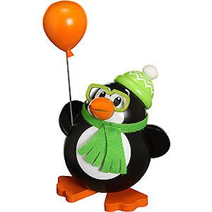 R�ucherm�nner Tiere R�ucherm�nnchen Kugelr�ucherfigur Pinguin - 12 cm