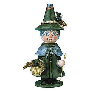 Räuchermänner Sonstige Figuren Räuchermännchen Miniatur Wichtel Großmutter - 14cm