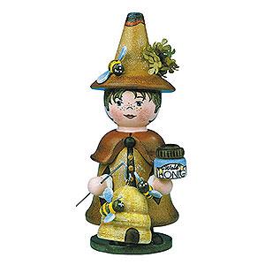 Räuchermänner Sonstige Figuren Räuchermännchen Miniatur Wichtel Waldhonig - 14cm