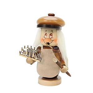 R�ucherm�nner Berufe R�ucherm�nnchen Miniwichtel Schwibbogenbauer - 13,5cm