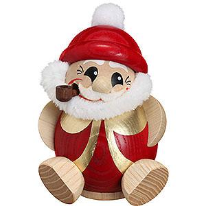 Räuchermänner Weihnachtsmänner Räuchermännchen Nikolaus rot-gold - 11 cm