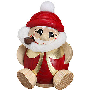 Räuchermänner Weihnachtsmänner Räuchermännchen Nikolaus rot-gold - 11cm