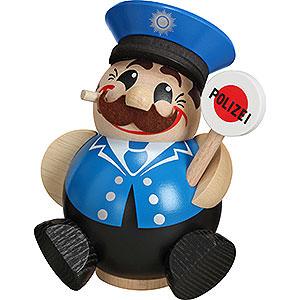 Räuchermänner Berufe Räuchermännchen Polizist - 12 cm