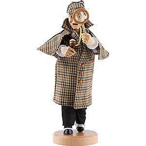 Räuchermänner Bekannte Personen Räuchermännchen Sherlock Holmes - 21 cm