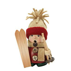 R�ucherm�nner Hobbies R�ucherm�nnchen - Skifahrer - 11cm
