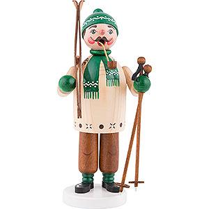 Räuchermänner Hobbies Räuchermännchen Skifahrer - 18cm