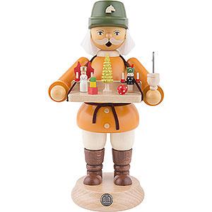 Räuchermänner Berufe Räuchermännchen Spielwarenverkäufer - 23 cm