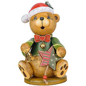 Kleine Figuren & Miniaturen Tiere B�ren R�ucherm�nnchen Teddy Weihnachtsklaus - 20cm