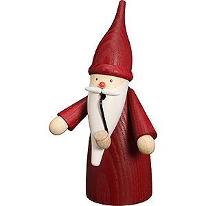 Räuchermänner Sonstige Figuren Räuchermännchen Traditionswichtel rot - 16cm