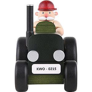 Räuchermänner Berufe Räuchermännchen Traktorfahrer mini - 10 cm