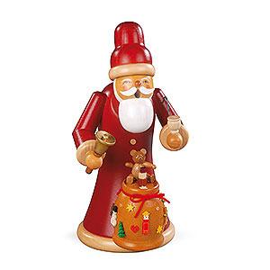 Räuchermänner Weihnachtsmänner Räuchermännchen Weihnachtsmann mit Geschenken - 23cm