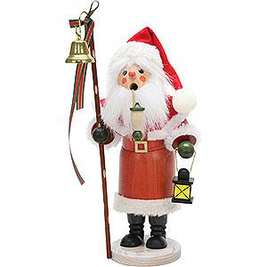 Räuchermänner Weihnachtsmänner Räuchermännchen Weihnachtsmann mit Laterne - 30,5cm