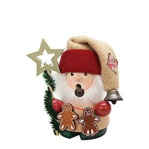 R�ucherm�nner Weihnachtsm�nner R�ucherm�nnchen - Weihnachtsmann mit Stern - 10cm