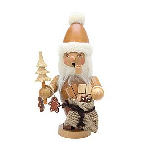Räuchermänner Weihnachtsmänner Räuchermännchen Weihnachtsmann natur - 21,0 cm