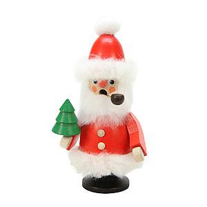 Räuchermänner Weihnachtsmänner Räuchermännchen Weihnachtsmann rot - 12,0 cm