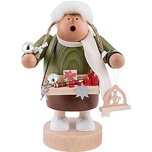 Räuchermänner Berufe Räuchermännchen Weihnachtsmarktverkäuferin - 20cm