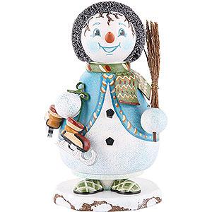 Räuchermänner Schneemänner Räuchermännchen Wichtel Schneeflöckchens Eiskufen - 14cm