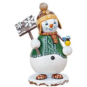Räuchermänner Schneemänner Räuchermännchen Wichtel Schneemann Schneegestöber - 14cm