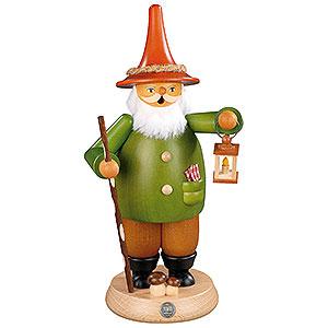 Räuchermänner Sonstige Figuren Räuchermännchen Wichtel mit Laterne - 25cm