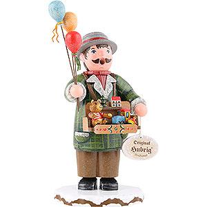 Räuchermänner Berufe Räuchermännchen Winterkinder Spielzeughändler - 20cm