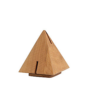 Räuchermänner Sonstige Figuren Räucherpyramide Eiche - 12cm