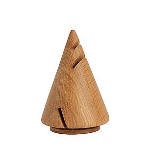 Räuchermänner Sonstige Figuren Räucherskulptur Pyramide aus Eiche - 14 cm