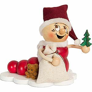 Räuchermänner Weihnachtsmänner Räucherwurm Weihnachts Rudi - 14 cm