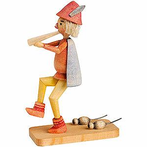 Kleine Figuren & Miniaturen Märchenfiguren Wilhelm Busch (KWO) Rattenfänger von Hameln - 7cm