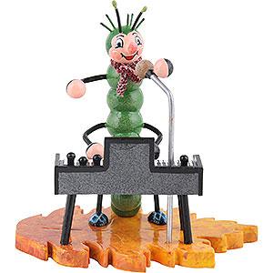 Kleine Figuren & Miniaturen Tiere Käfer Raupe mit Keyboard - 8 cm