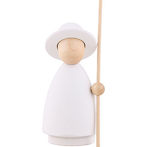 Kleine Figuren & Miniaturen Krippen Schäfer - modern weiß/natur - groß - 10 cm