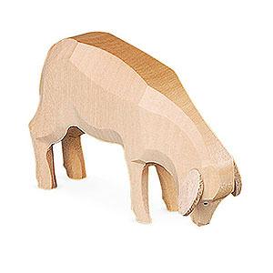 Kleine Figuren & Miniaturen Tiere Schafe Schafe geschnitzt - 5cm