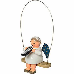 Weihnachtsengel Engel Baumbehang Sonstige Engel Schaukelengel mit Melodica - 8 cm